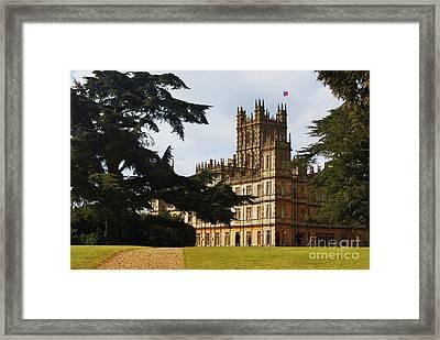 Downton Abbey 3 Framed Print by Courtney Dagan