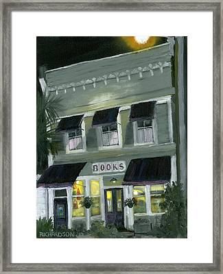 Downtown Books 11 Framed Print by Susan Richardson