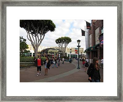 Downtown Disney Anaheim - 12122 Framed Print by DC Photographer