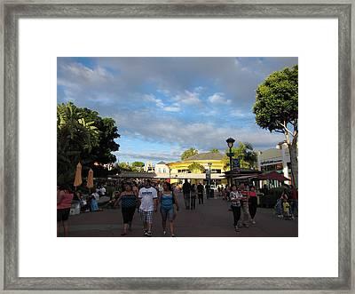 Downtown Disney Anaheim - 12124 Framed Print by DC Photographer