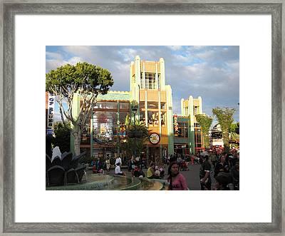 Downtown Disney Anaheim - 12127 Framed Print by DC Photographer