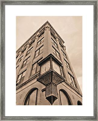 Downtown  Framed Print by JC Findley
