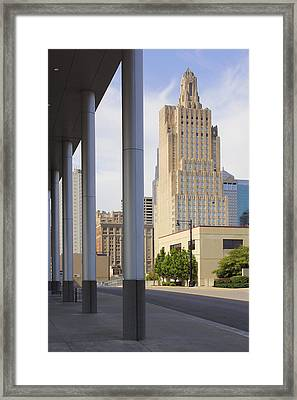 Downtown Kansas City Framed Print by Mike McGlothlen