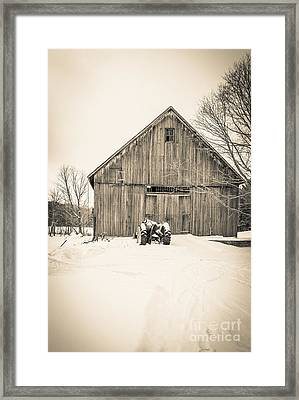 Downtown Metropolitian Etna New Hampshire Framed Print by Edward Fielding
