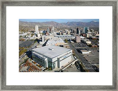 Downtown Salt Lake City Framed Print by Bill Cobb