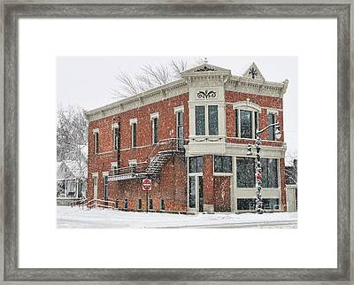 Downtown Whitehouse  7031 Framed Print by Jack Schultz