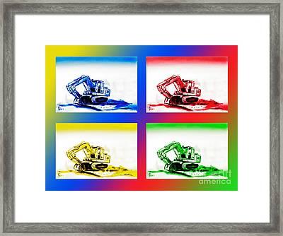 Dozer Mania IIi Framed Print by Kip DeVore