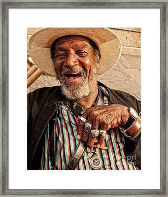 Dr. Luv New Orleans Framed Print by Kathleen K Parker