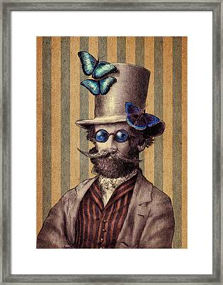 Dr. Popinjay Framed Print by Eric Fan