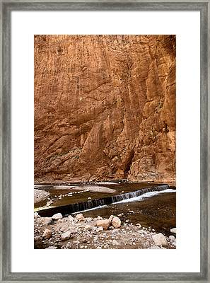 Draa River Morocco Framed Print by Sophie Vigneault