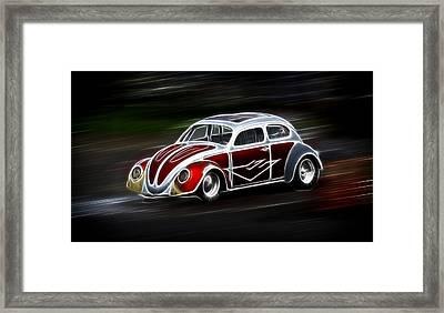 Drag Bug 4 Framed Print by Steve McKinzie