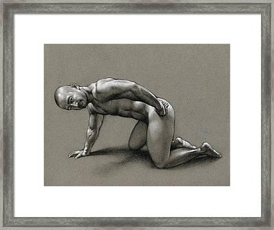 Dragon Framed Print by Chris  Lopez
