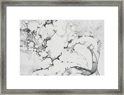 Dragon Dance Framed Print by Claudia Smaletz