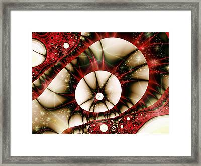 Dragon Eye Framed Print by Anastasiya Malakhova
