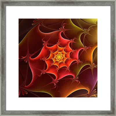 Dragon Scale Framed Print by Anastasiya Malakhova
