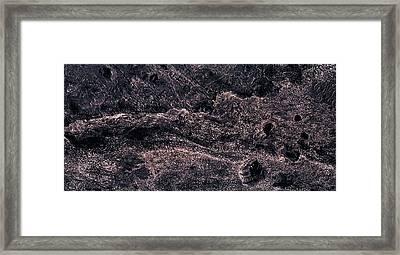 Dragon Square - Mars Framed Print by Freyk John Geeris