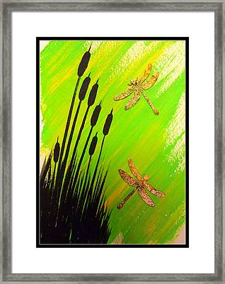Dragonfly Dreams Framed Print by Darren Robinson