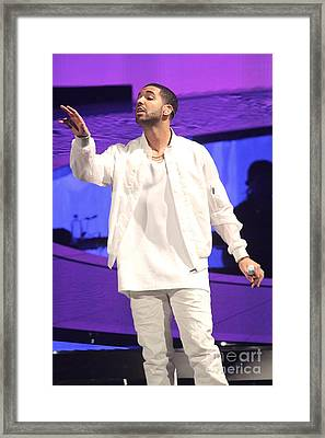 Drake Framed Print by Front Row  Photographs