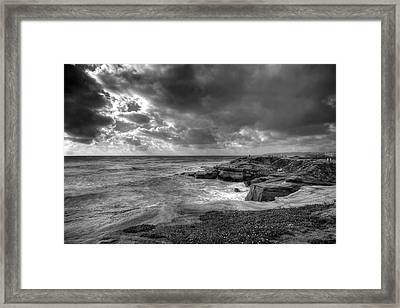 Drama Framed Print by Peter Tellone