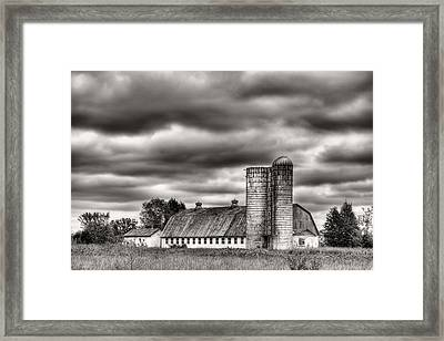 Dramatic Skies  Framed Print by JC Findley