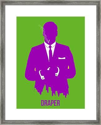 Draper Poster 1 Framed Print by Naxart Studio