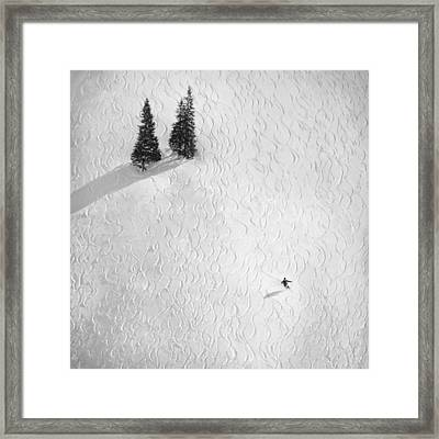 Drawing His Own.. Framed Print by Peter Svoboda