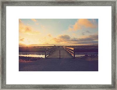 Drawing Nearer Framed Print by Laurie Search