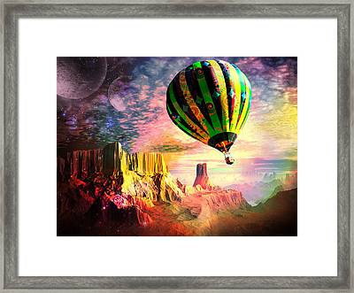 Dream And All Things Will Be Possible Framed Print by Spinning Angel
