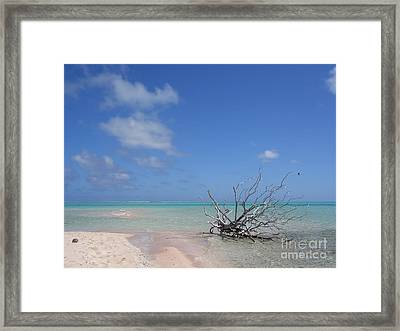 Dream Atoll  Framed Print by Jola Martysz