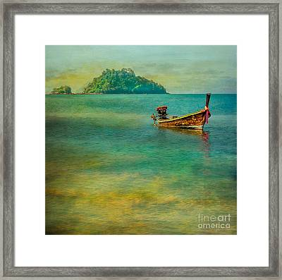 Dream Boat Framed Print by Adrian Evans
