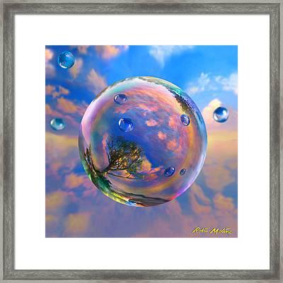 Dream Bubble Framed Print by Robin Moline