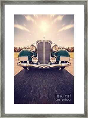Dream Car Framed Print by Edward Fielding