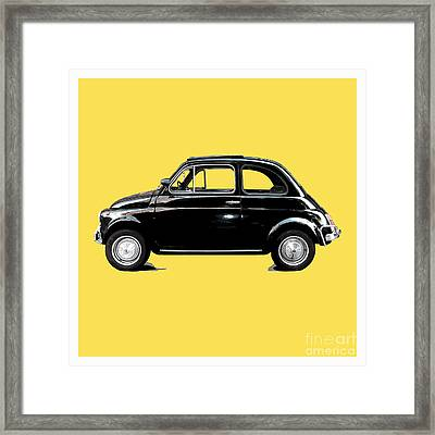 Dream Car Yellow Framed Print by Steffi Louis