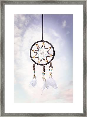 Dream Catcher Framed Print by Amanda Elwell