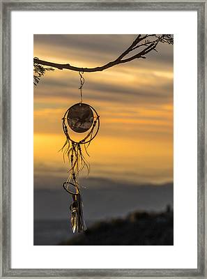 Dream Caught Framed Print by Peter Tellone