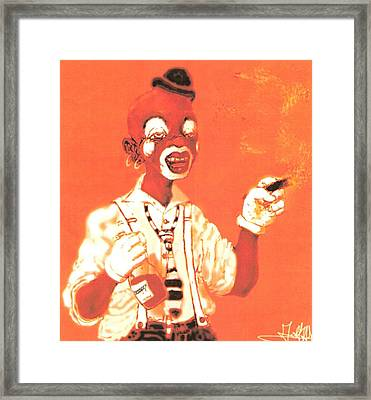 Dream Face Framed Print by George Harrison