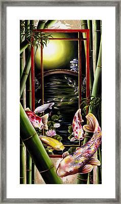 Dream Framed Print by Hiroko Sakai