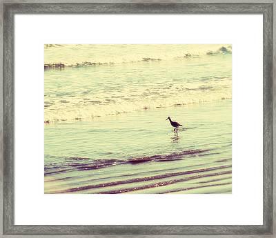 Dream In Aquamarine Framed Print by Amy Tyler