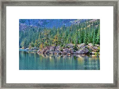Dream Lake Framed Print by Kathleen Struckle