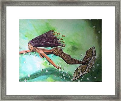 Dream Framed Print by Mamu Art