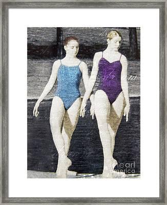 Dream Of Dance Framed Print by Deborah Smith