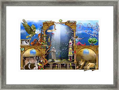 Dream On Framed Print by Colin Thompson