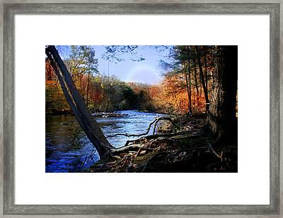 Dream River Framed Print by Mark Ashkenazi