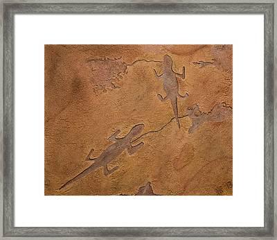 Dream Walkers Framed Print by Katie Fitzgerald