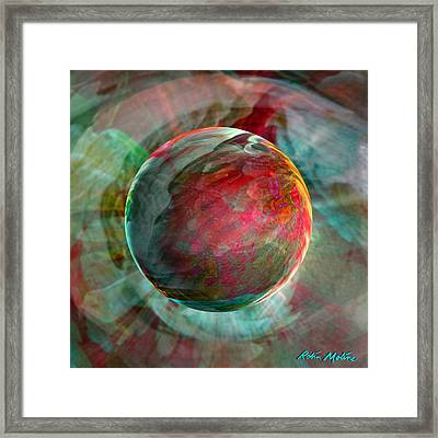 Dream Weaving Framed Print by Robin Moline