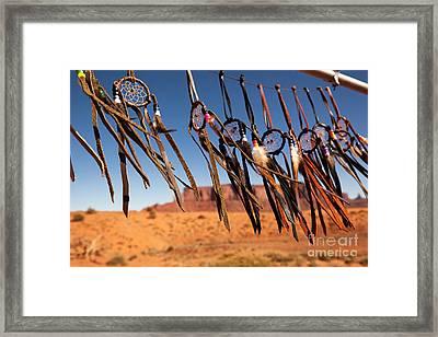 Dreamcatchers Framed Print by Jane Rix