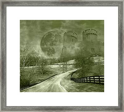 Dreamer Kingdom Framed Print by Betsy C Knapp