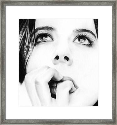 Dreamer Framed Print by Natasha Denger