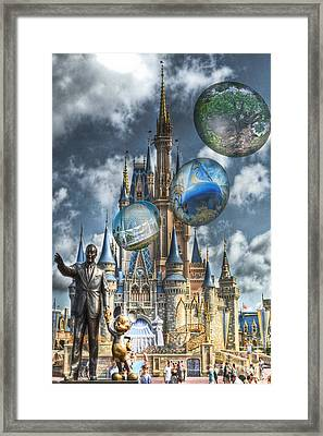 Dreamer Of Dreams Framed Print by Ryan Crane