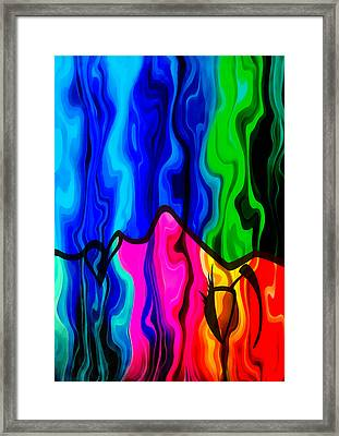 Dreaming Framed Print by Angelina Vick